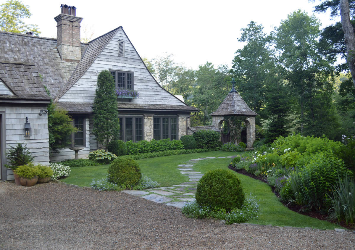 Asian style home highlands nc for Garden house design ltd